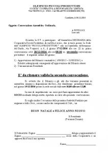 Convocazione assemblea PDF