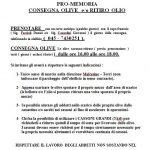Immagine del file pdf istruzioni per consegnare le olive per la molitura